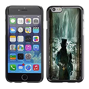 For Apple (4.7 inches!!!) iPhone 6,S-type® Green Library Mysterious Kids - Arte & diseño plástico duro Fundas Cover Cubre Hard Case Cover
