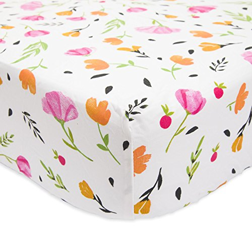 - Little Unicorn Percale Crib Sheet - Berry & Bloom