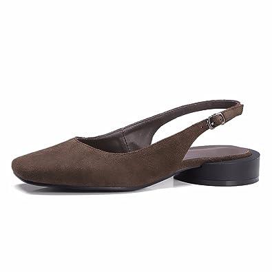 A Chaussures Carrées DétéChaussures De Talon Dun Mot De
