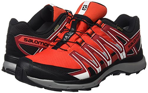 black Trail Lite De red Dalhia Xa Running Course Pied Gtx Salomon Et À Chaussures Homme fiery Red Rouge ZTFqEWS