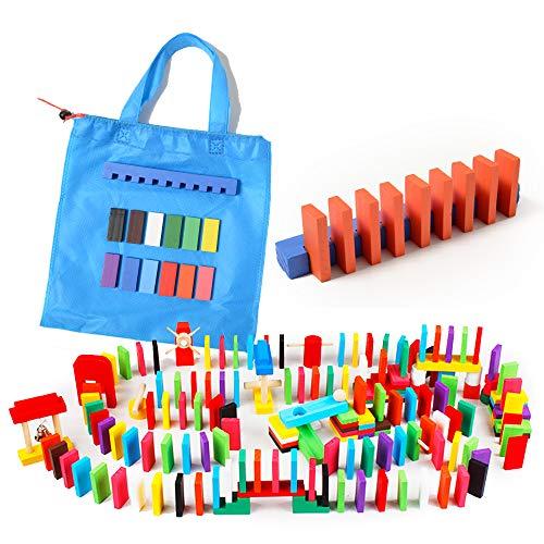 Raywood ドミノ倒し ギミック ピタゴラ セット 240個 19種類 集中力を高めます こども おもちゃ