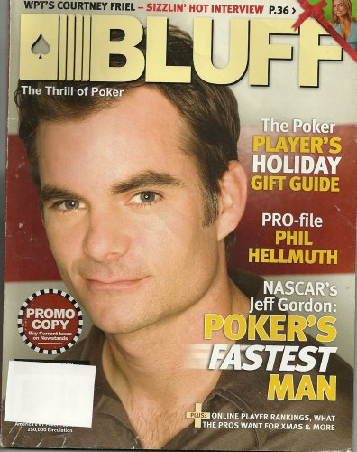 Jeff Gordon Stocking (Bluff Magazine - December 2005)