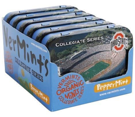 Ohio State Collegiate Series Organic Peppermint Mints - Version ()