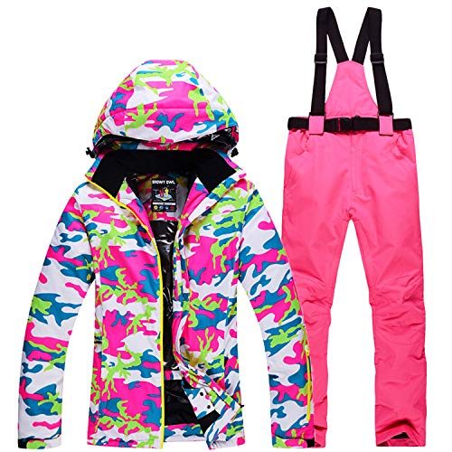Damen Winddicht Wasserdicht Set Femme Ski H Hose 2 Skijacke Costume QrBstCxhd