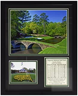 Signed US Open Course Map Of Merion GC By Lee Wybranski At - Us open course map