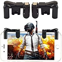 Geeky PUBG Mobile Game Controller (Model 3, Black)