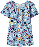Moon and Back by Hanna Andersson Girls' Little Fashion Tee