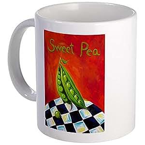 CafePress - Pea Pod Mug - Unique Coffee Mug, Coffee Cup