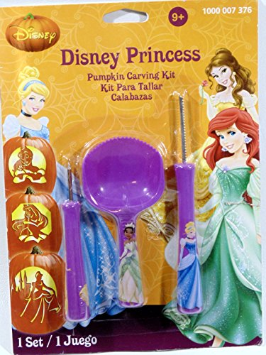 Disney Princess Pumpkin Carving Kit]()