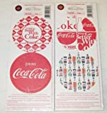 old coca cola cans - Set of 8 Coke Coca-Cola Car Table Drink Thick Paper sealed old store stock Coasters