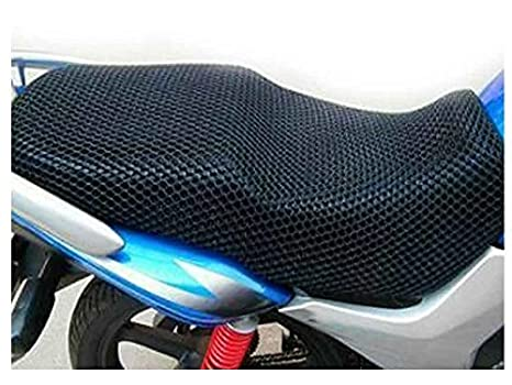 Stupendous Autowizard Motorcycle Scooty Net Fabric Seat Cover For Tvs Pdpeps Interior Chair Design Pdpepsorg