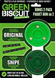 Green Biscuit Bonus 2 Pack, Original Green (Passing) / Green Biscuit Snipe (Shooting)