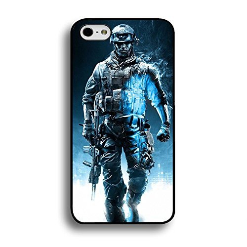 Cool Strong Soldiers 3D PC Game Battlefield Phone Case Cover for Iphone 6 / 6s ( 4.7 Inch ) Battlefield 4 Trend