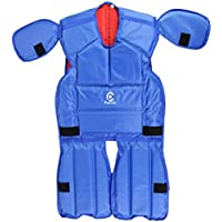 Parecido Cotton & Polyster Rugby Tackle Suit Reversible (Blue & Red)