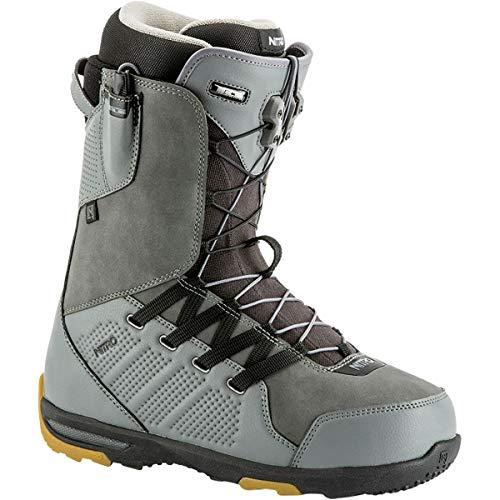 Nitro Snowboards Thunder TLS Boots, Men, Mens, 848451, Charcoal, 285
