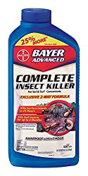 Bayer Advanced 700270 Complete Insect Killer For Soil & Turf Concentrate, 40-ounce