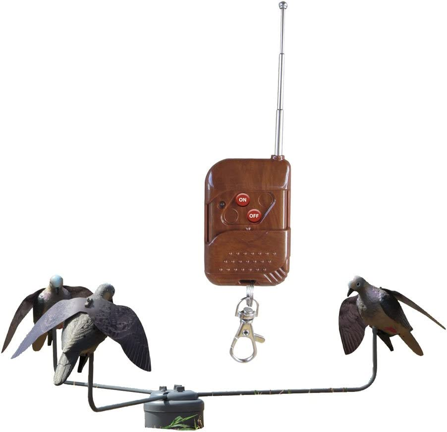 Hunter's Edge Dove Feeding Frenzy with Remote Dove Decoy for Dove Hunting