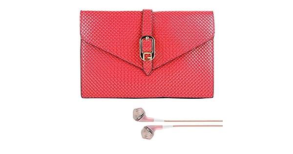 Amazon.com: SumacLife Magenta Womens Diamond Clutch Case ...