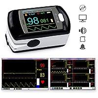 Pulsoximeter PULOX PO-300 mit Farbdisplay und Alarm, inkl. Software für Langzeitaufnahme