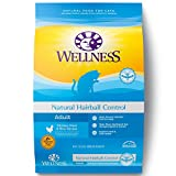 Wellness Complete Health Natural Dry Cat Food - Hairball Control Chicken Recipe - 12-Pound Bag