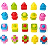 T-Juan MM 40pc Colorful Montessori toys Jumbo