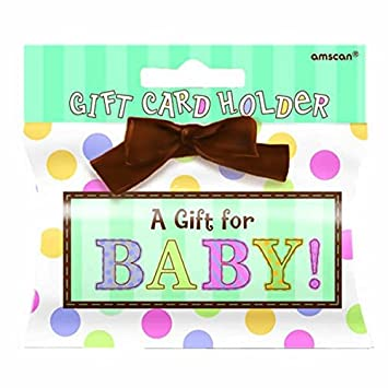 Buy Amscan Baby Shower Gift Card Holder Online At Low Prices In