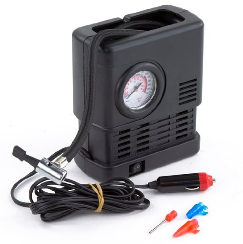 primetrendz tm portable 12 volt air compressor with. Black Bedroom Furniture Sets. Home Design Ideas