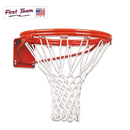 First Team Heavy Duty Double Rim Fixed Basketball Goal – DiZiSports Store