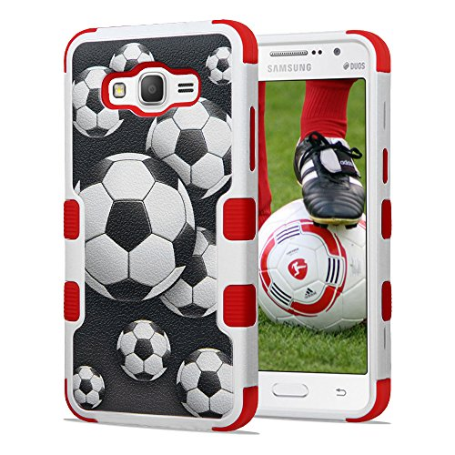 Slim Fit Protective Case for Samsung Galaxy Grand Prime G530 (Red) - 6