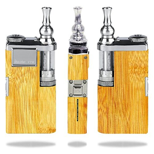 Decal Sticker Skin WRAP - Innokin itaste VTR - Bamboo Light Color Wood Wooden Background