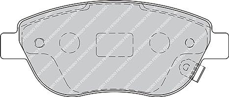 Freno A Disco - confezione 4 pezzi Ferodo FDB519 Premier Kit Pastiglie Freno