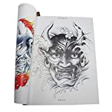 MagiDeal Oriental Traditional Body Art Tattoo Flash Designs Tattoo Reference Book