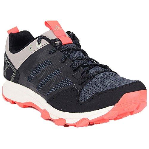 UPC 888596212324, adidas Outdoor Kanadia 7 Trail Running Shoe - Men's Black/Black/Solar Red 9