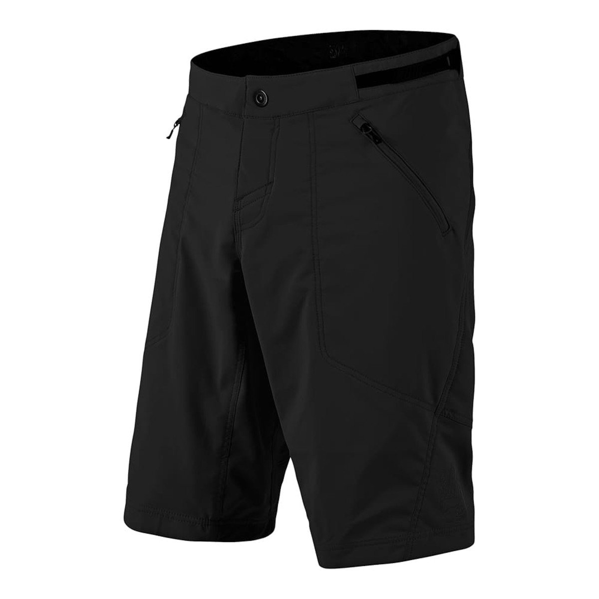 Troy Lee Designs 2018 Skyline Shell Men's Off-Road BMX Shorts - Black / 30 by Troy Lee Designs