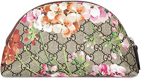Gucci neceser estuche de maquillaje mujer en piel nuevo blooms beige: Amazon.es: Zapatos y complementos