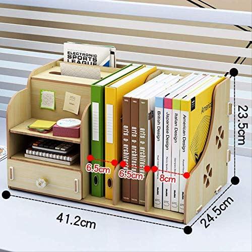 Office Liefert Desktop-ordner Aufbewahrungsbox Informationen Regal Bücherständer Finishing Desk Regal Datei Aufbewahrungsbox