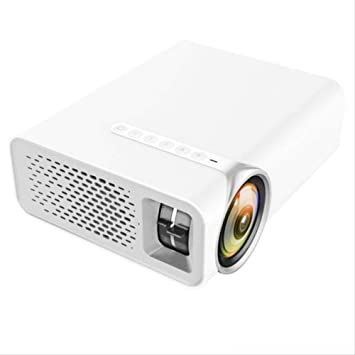 Mini proyector de Video portátil, HD 1080P 1200 lúmenes Multimedia ...