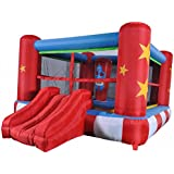 WALIKI TOYS Boxing Ring Moon Bounce House Inflatable Bouncy Castle
