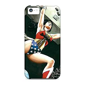 The Best Gift For For Girl Friend, Boy Friend, Wonder Woman I4 Cases Protector Customized Design For Iphone 5c Covers