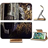 Liili Premium Apple iPhone 7 Flip Pu Leather Wallet Case IMAGE ID: 2033538 achilles tank destroyer mk10 from second world war photo taken at night