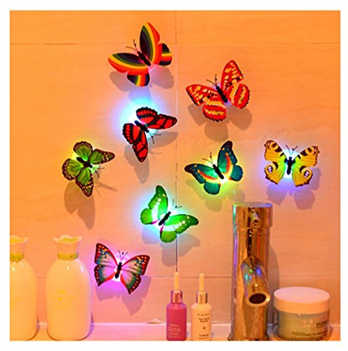 Led 3D Butterfly Night Lights - 7