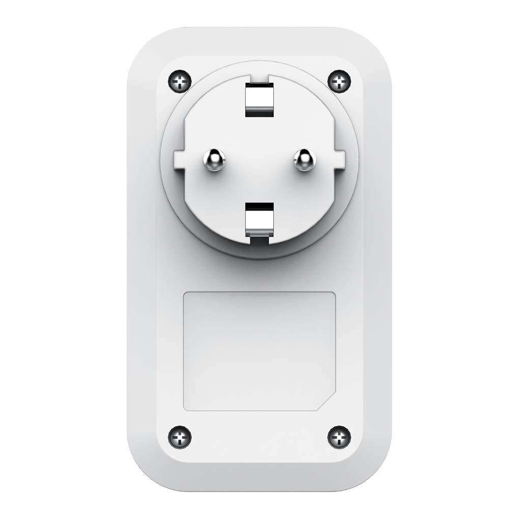 Pegcdu WiFi Smart Plug Timing Socket Prise sans Fil de contr/ôle /à Distance Intelligente Timing Compte /à rebours Domotique EU Plug