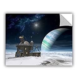 Artwall 0dec020a2432p Cynthia Decker's Observatory, Art Appeelz Removable Wall Art Graphic, 24-inch X 32-inch