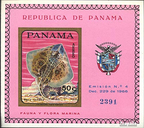 (Panama block91b (Complete.Issue.) 1968 Fish (Stamps for Collectors) Water)