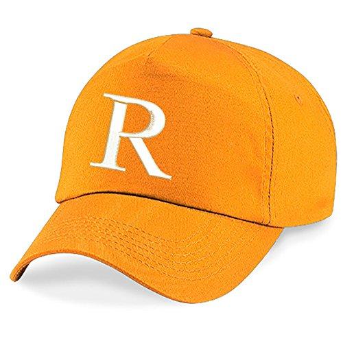 Z Niños A Gorra Niños Alphabet Bordado Orange R Hat 4sold Escuela fq1wIx