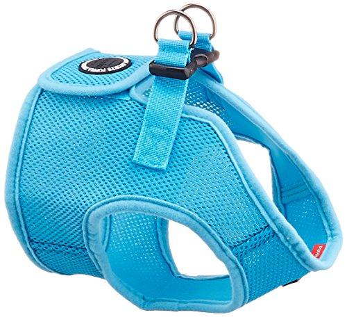 PUPPIA International Harness Soft B Vest, X-Large, Sky Blue