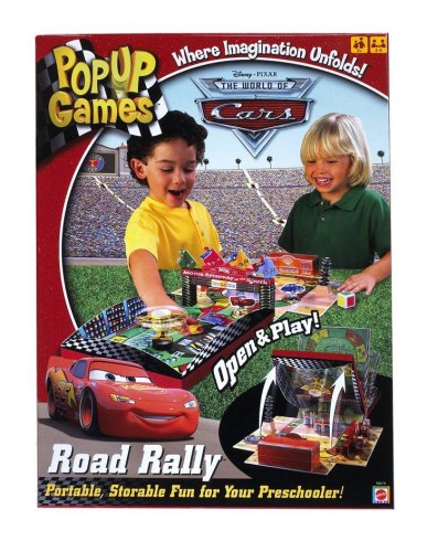 Cars Pop Up Road Rally Game - Shopping Centre Seattle
