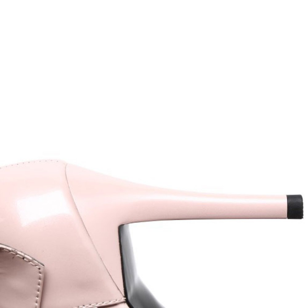 DKFJKI Damen Lackleder Lackleder Lackleder Pumps Stilettos Schnallen Fashion Joker Sandalen Kleider Schwarze Arbeitsschuhe B07CQSX1J8 Sport- & Outdoorschuhe Viele Sorten 4991d1