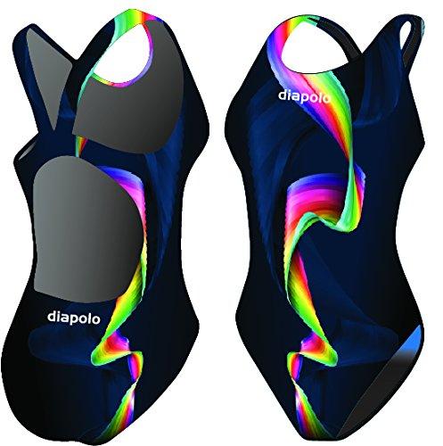 Diapolo Badeanzug Rainbow Kollektion für Schwimmen Synchronschwimmen Wasserball Thriathlon