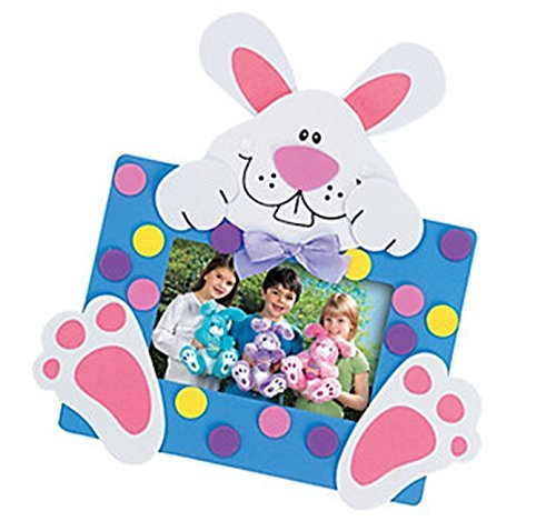 12 - Easter Bunny Picture Frame Magnet Craft Kits